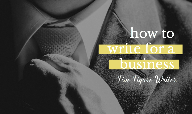 How To Write For A Business - Sarah Greesonbach - Five Figure Writer