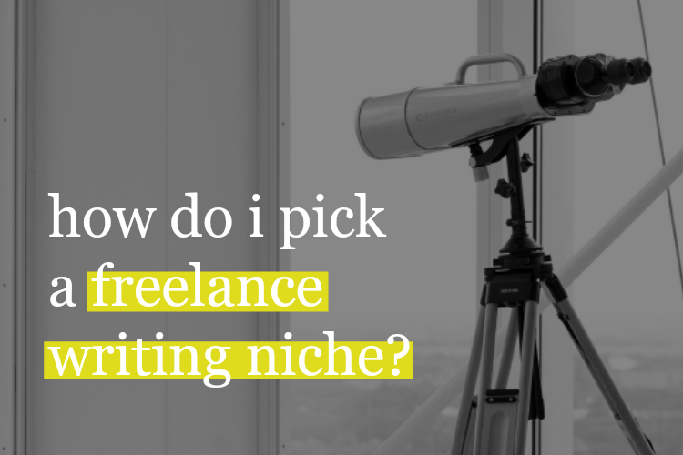 FiveFigureWriter-How do I pick a freelance writing niche?
